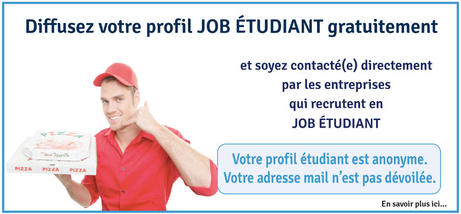 profil job étudiant